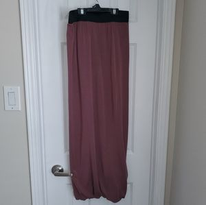 Wilfred GUC Dusty Rose Pink Maxi Skirt